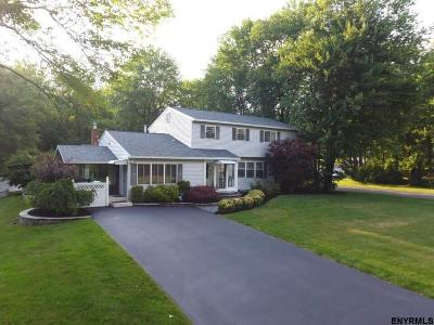 Clifton Park Single Family Home For Sale: 1 Pico Rd
