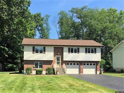 Rensselaer County Single Family Home For Sale: 5 Pauline Ct