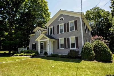 Guilderland Single Family Home For Sale: 6494 Vosburgh Rd