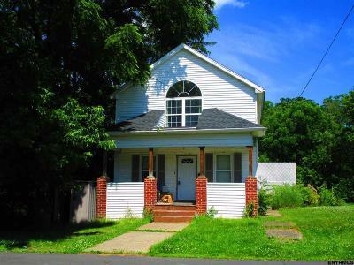 Cohoes Single Family Home For Sale: 35 Dudley Av