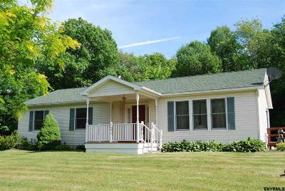 Rensselaer County Single Family Home For Sale: 4120 Ny Rt 7