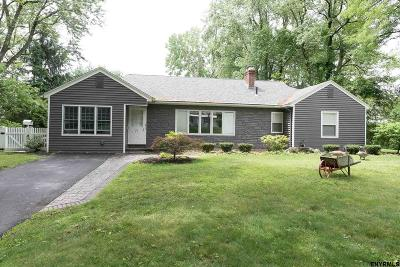 Colonie Single Family Home For Sale: 71 Upper Loudon Rd