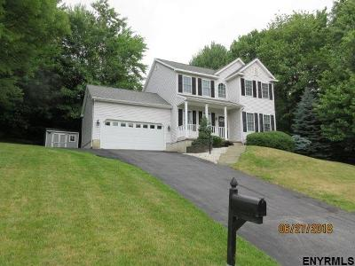 Clifton Park Single Family Home For Sale: 6 Delta Way