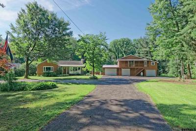 New Scotland Single Family Home For Sale: 484 Altamont Rd