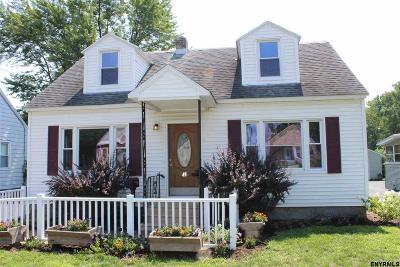 Albany Single Family Home Price Change: 45 Hackett Av