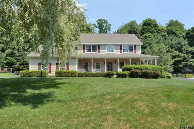 Clifton Park Single Family Home For Sale: 22 Birch Hill Rd