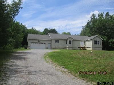 Saratoga County Single Family Home For Sale: 4380 Route 9n