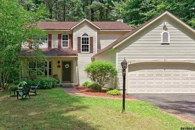 Clifton Park Single Family Home For Sale: 38b Huntwood Dr