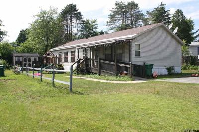 Saratoga Springs NY Single Family Home For Sale: $59,900