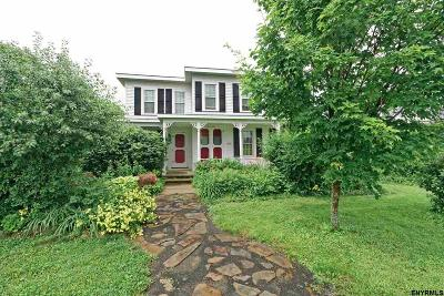 Single Family Home For Sale: 3992 Schoharie Turnpike