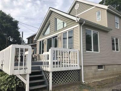 Saratoga County Single Family Home For Sale: 1300 Route 9 P