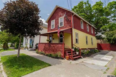 Saratoga County Single Family Home For Sale: 127 Division St