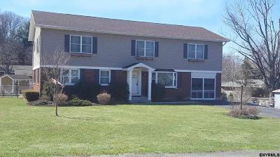 North Greenbush Single Family Home For Sale: 8 East Av