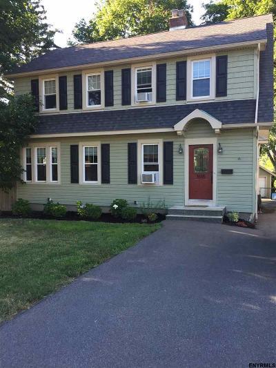 Troy Single Family Home Price Change: 1618 Tibbits Av