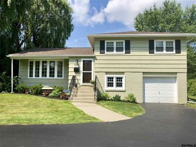 Niskayuna Single Family Home For Sale: 2263 Dean St