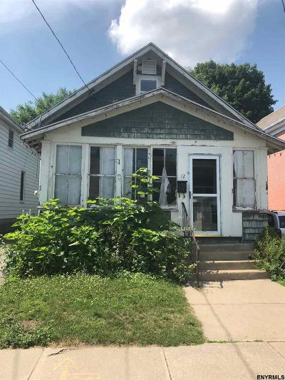 Schenectady Single Family Home For Sale: 12 Princeton St