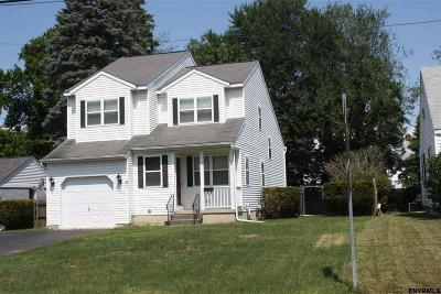Colonie Single Family Home For Sale: 26 Rapple Dr