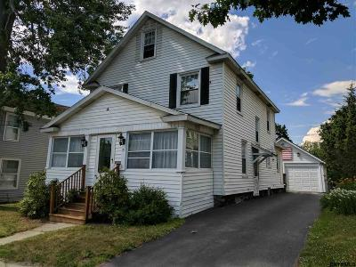 Gloversville NY Single Family Home For Sale: $82,500