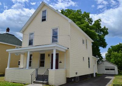 Johnstown NY Single Family Home For Sale: $95,000