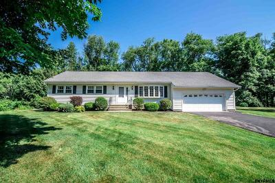 Clifton Park Single Family Home For Sale: 8 Cotton Ct