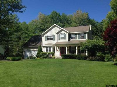 Saratoga County Single Family Home For Sale: 19 Fenimore Pl