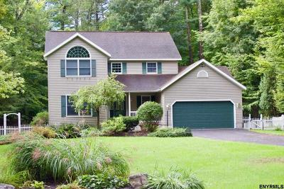 Saratoga County Single Family Home For Sale: 61 Fieldstone Dr