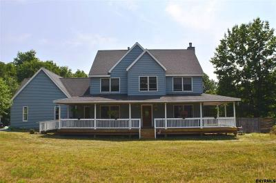 Guilderland Single Family Home New: 6036 Old State Rd