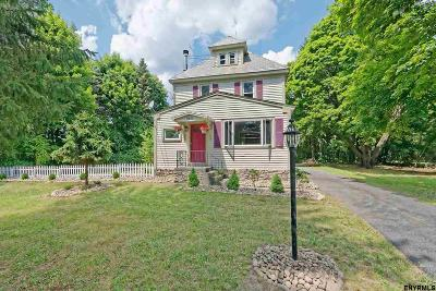 Niskayuna Single Family Home For Sale: 2421 Rosendale Rd