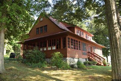 Albany County, Saratoga County, Schenectady County, Warren County, Washington County Single Family Home For Sale: 5 Clay Island