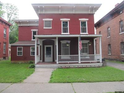 Fort Plain Single Family Home For Sale: 58-60 Mohawk St