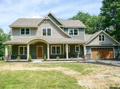 Saratoga Springs Single Family Home For Sale: 37 Locust Grove Rd