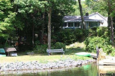 Rensselaer County Single Family Home For Sale: 10 North Shore Rd