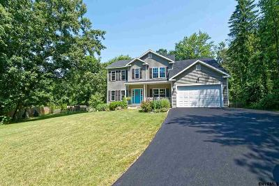 Saratoga County Single Family Home New: 680 Eastline Rd