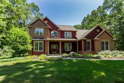 Saratoga County Single Family Home New: 8 Winding Brook Dr