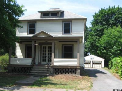 Hudson Falls NY Single Family Home For Sale: $149,900