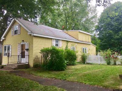 Rensselaer County Single Family Home New: 653 6th Av