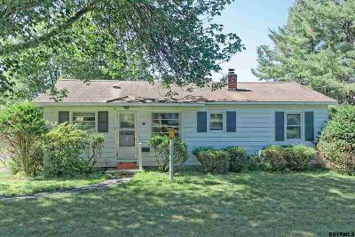 Rensselaer County Single Family Home New: 34 Hakes Rd