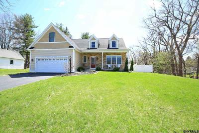 Albany County Single Family Home Price Change: 216 Glenmont Rd