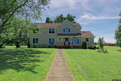 Saratoga County Single Family Home For Sale: 74 Hayner Rd