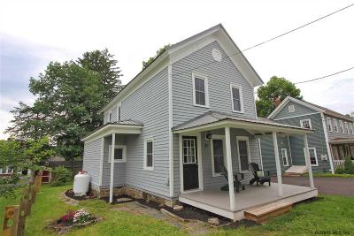 Rensselaer County Single Family Home Active-Under Contract: 37 Elm St