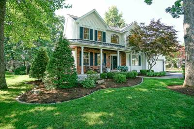 Saratoga County Single Family Home For Sale: 6 Overlook Ct