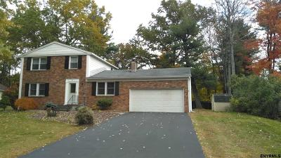 Clifton Park Single Family Home For Sale: 34 Linden Ct