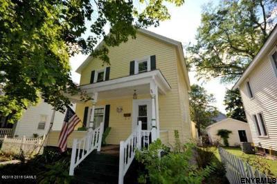 Glens Falls Single Family Home For Sale: 18 Flandreaux Av