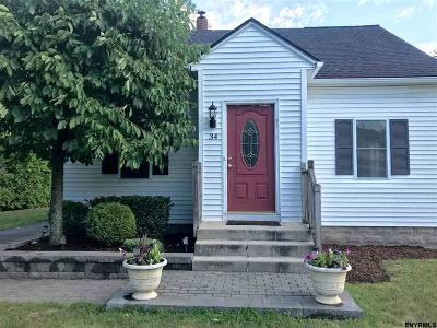 Colonie Single Family Home For Sale: 34 Van Heusen St