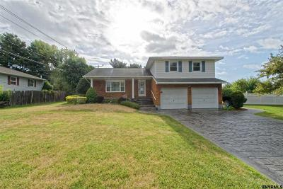 Colonie Single Family Home For Sale: 4 Mercer Av