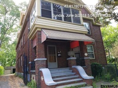 Schenectady Multi Family Home Price Change: 113 Park Pl