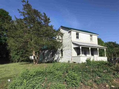 Saratoga County Single Family Home For Sale: 4 Staffords Bridge Rd