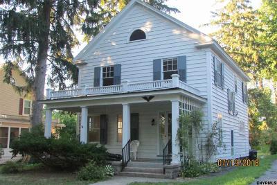 Niskayuna Single Family Home For Sale: 2229 Grand Blvd