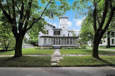 Saratoga Springs NY Single Family Home For Sale: $1,495,000