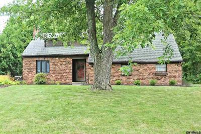 Niskayuna Single Family Home For Sale: 1509 Dorwaldt Blvd